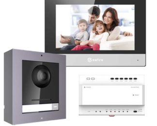 dwużyłowy wideodomofon IP safire nie hikvision
